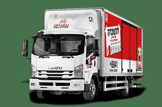 השכרת משאית 12 טון